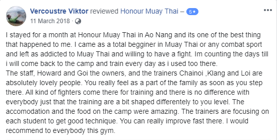 Muay Thai Review