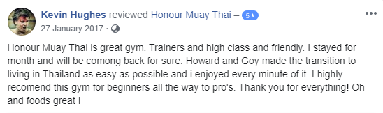 Muay Thai Training Camp Review